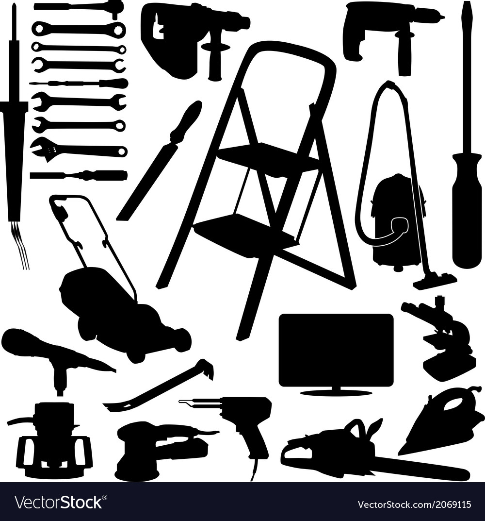 House tool vector | Price: 1 Credit (USD $1)