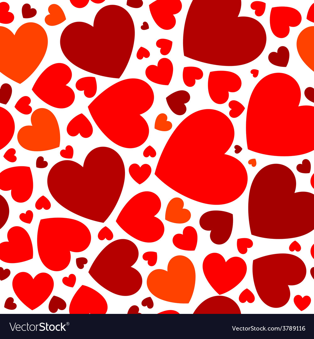 Bright red hearts vector   Price: 1 Credit (USD $1)