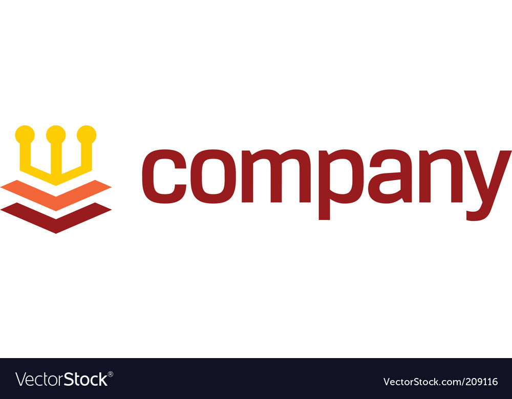 Crown logo for legal company vector | Price: 1 Credit (USD $1)