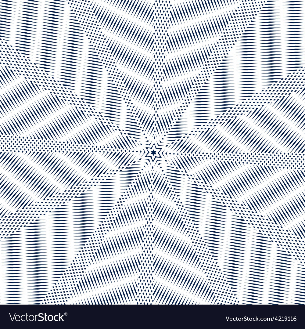 Moire pattern monochrome background with trance vector | Price: 1 Credit (USD $1)