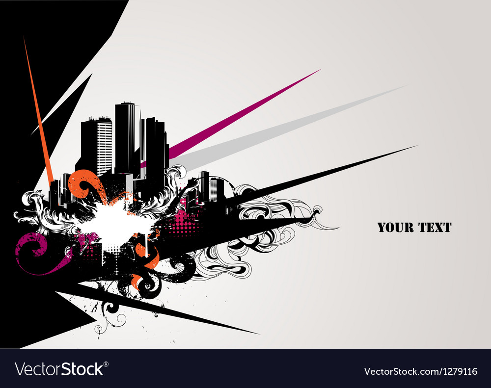 Urban composition vector | Price: 1 Credit (USD $1)