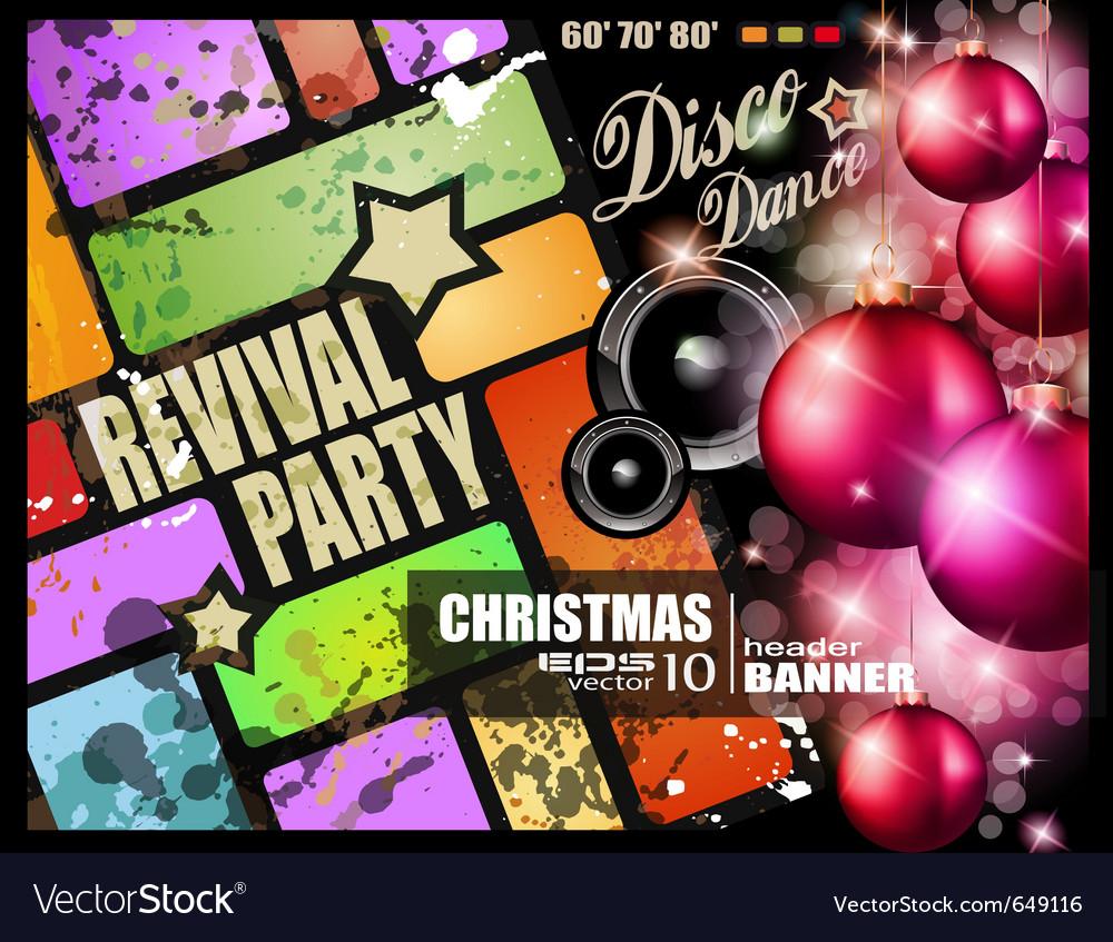 Vintage revival party vector   Price: 3 Credit (USD $3)