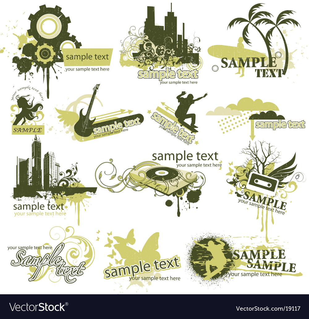 Design elements vector | Price: 5 Credit (USD $5)