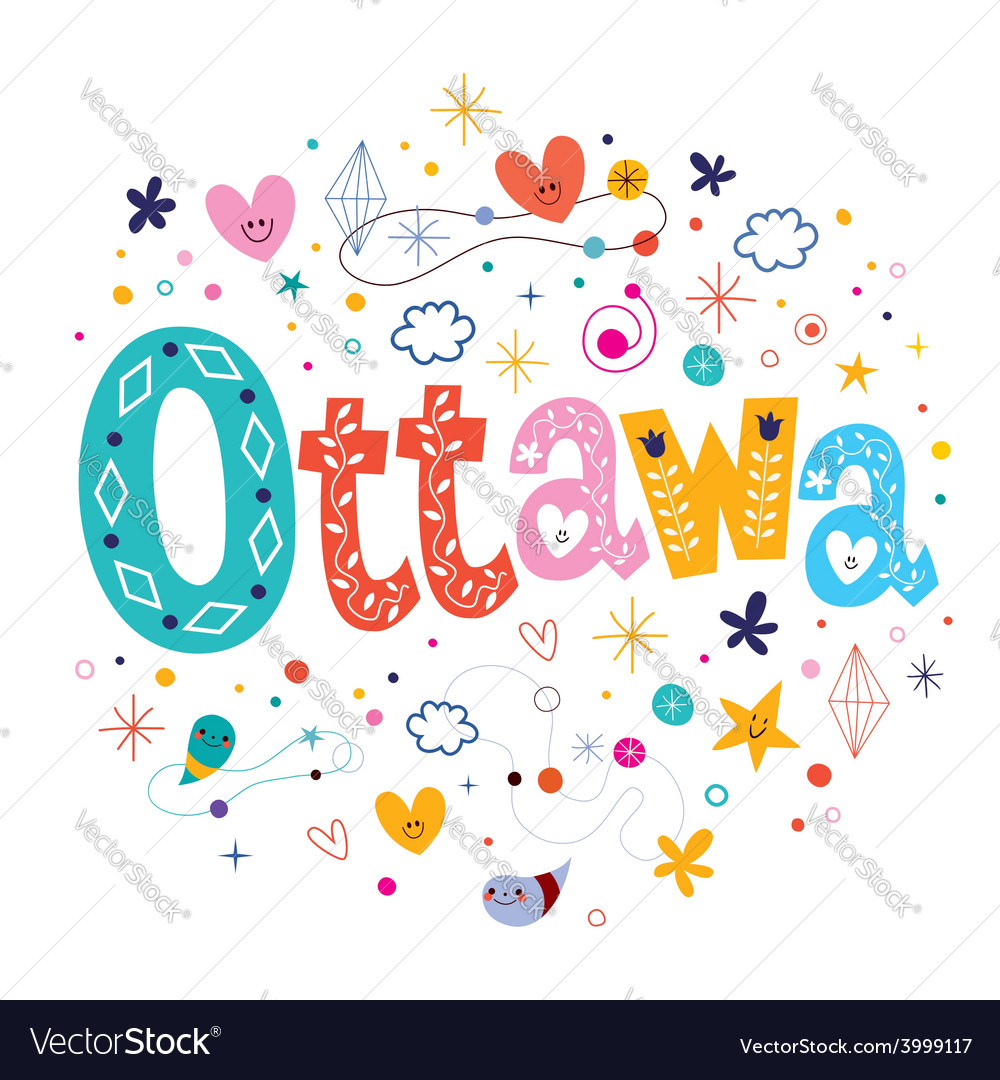 Ottawa vector | Price: 1 Credit (USD $1)