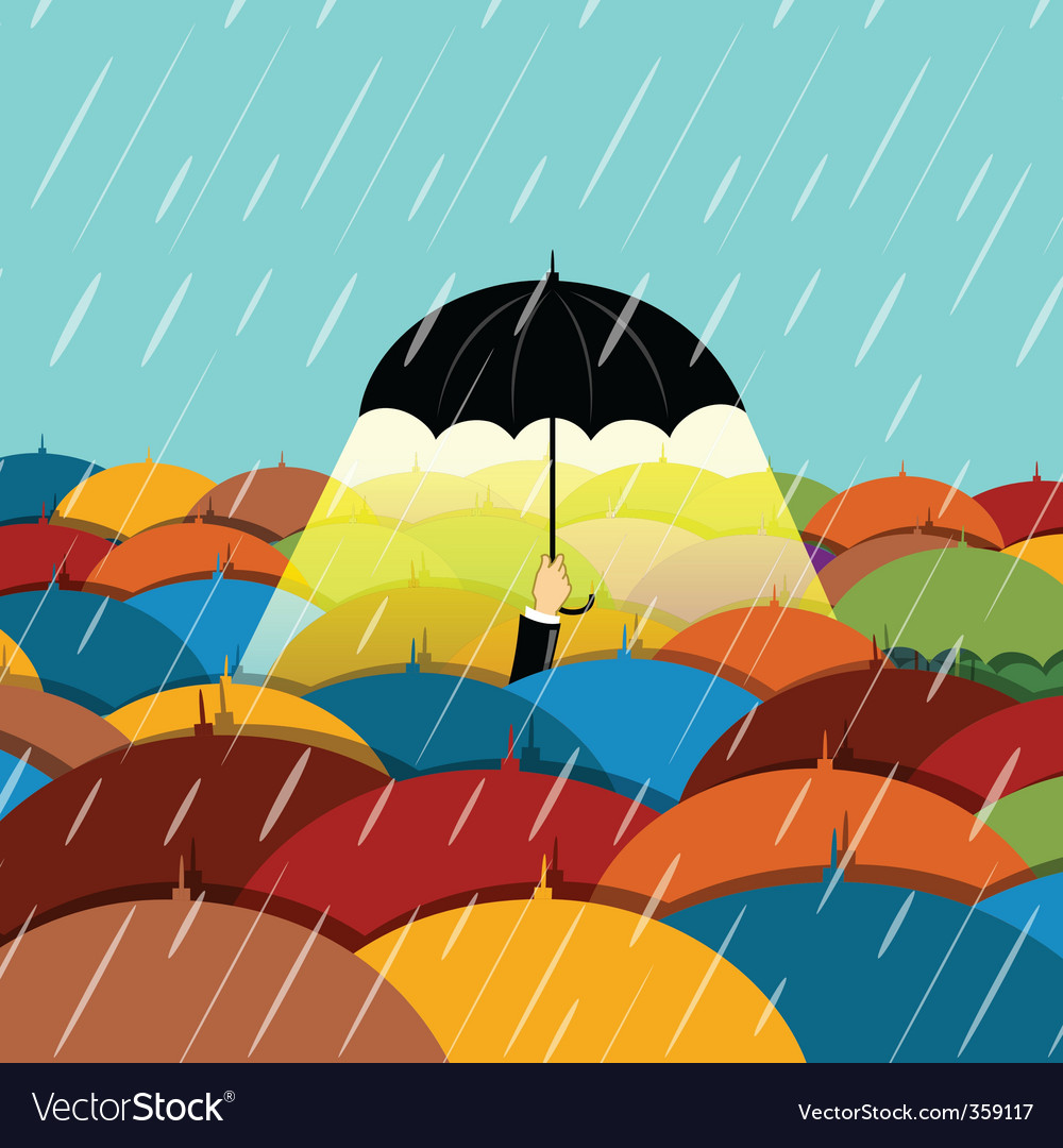 Raining season vector | Price: 1 Credit (USD $1)