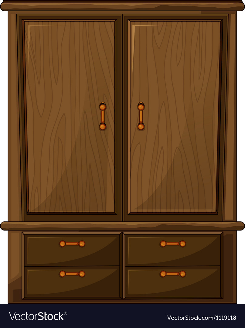 A wardrobe vector | Price: 1 Credit (USD $1)