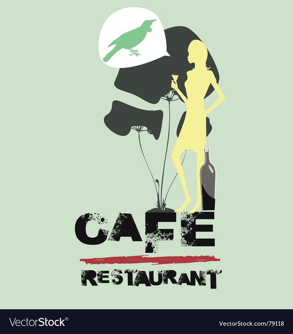 Cafe restaurant vector   Price: 1 Credit (USD $1)