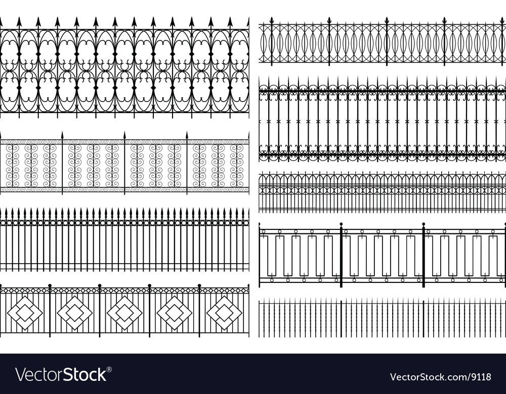 Fences vector | Price: 1 Credit (USD $1)