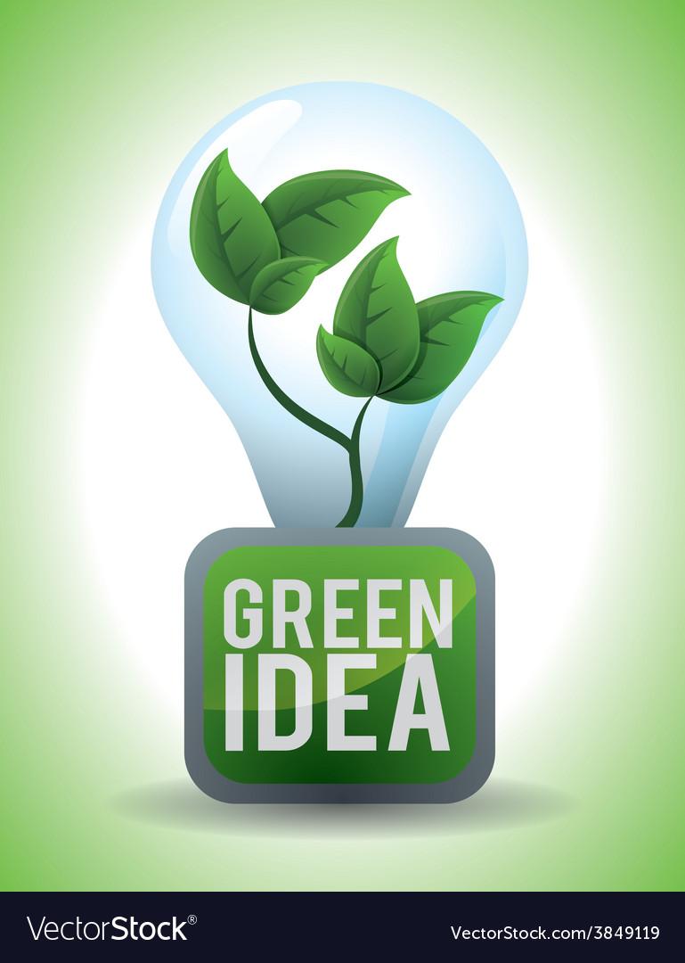 Eco concept vector | Price: 1 Credit (USD $1)
