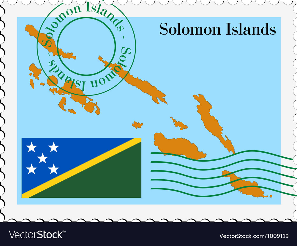 Mail to-from solomon islands vector | Price: 1 Credit (USD $1)