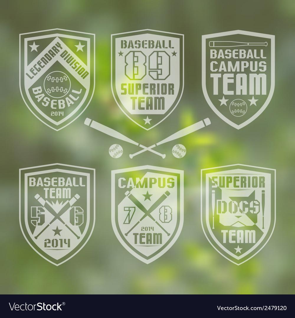 Baseball team emblem vector   Price: 1 Credit (USD $1)