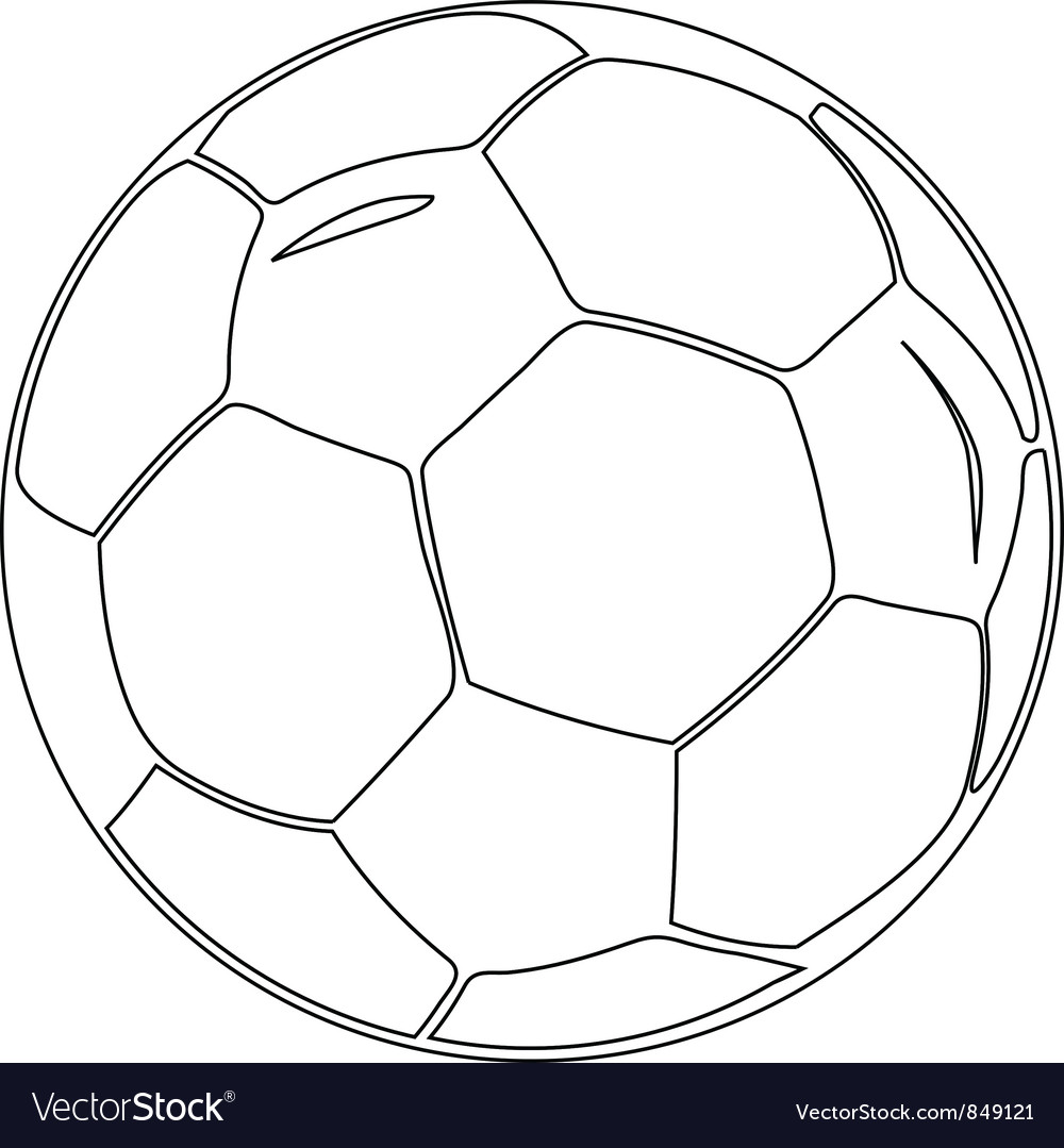 Isolated soccer ball vector | Price: 1 Credit (USD $1)