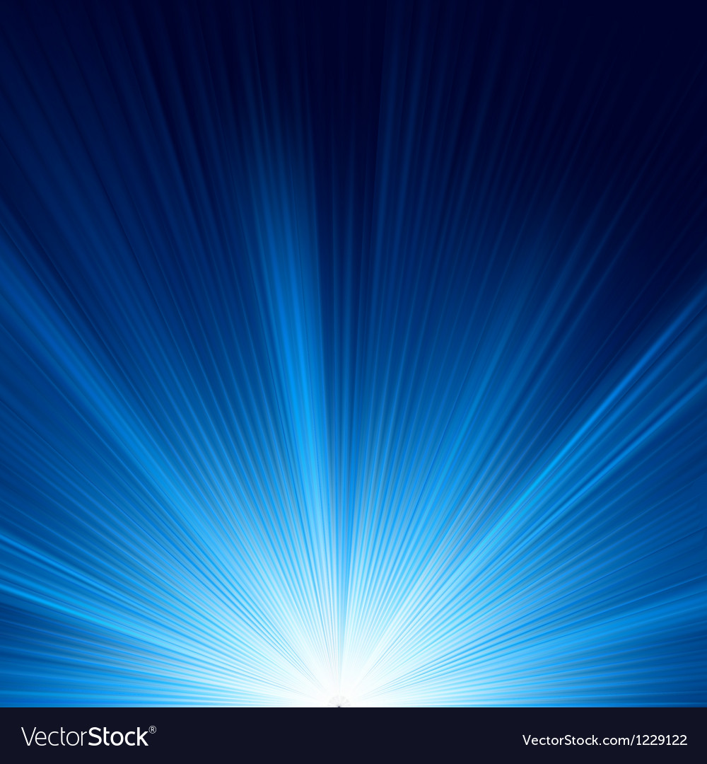 Blue star burst background vector | Price: 1 Credit (USD $1)