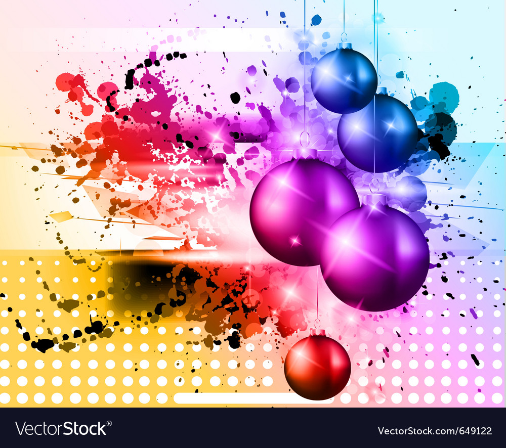 High tech chrstmas background vector | Price: 3 Credit (USD $3)