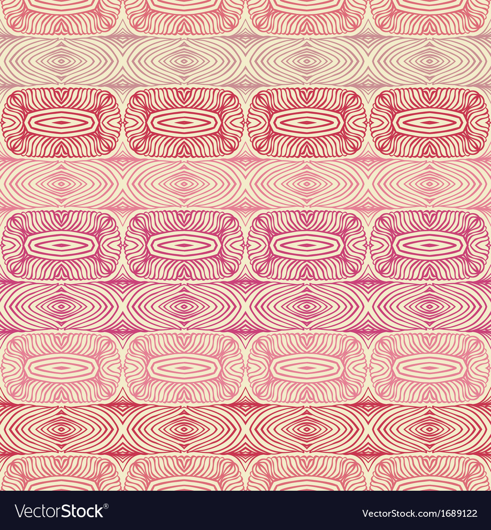 Linear pattern with indian ethnic motifs vector | Price: 1 Credit (USD $1)