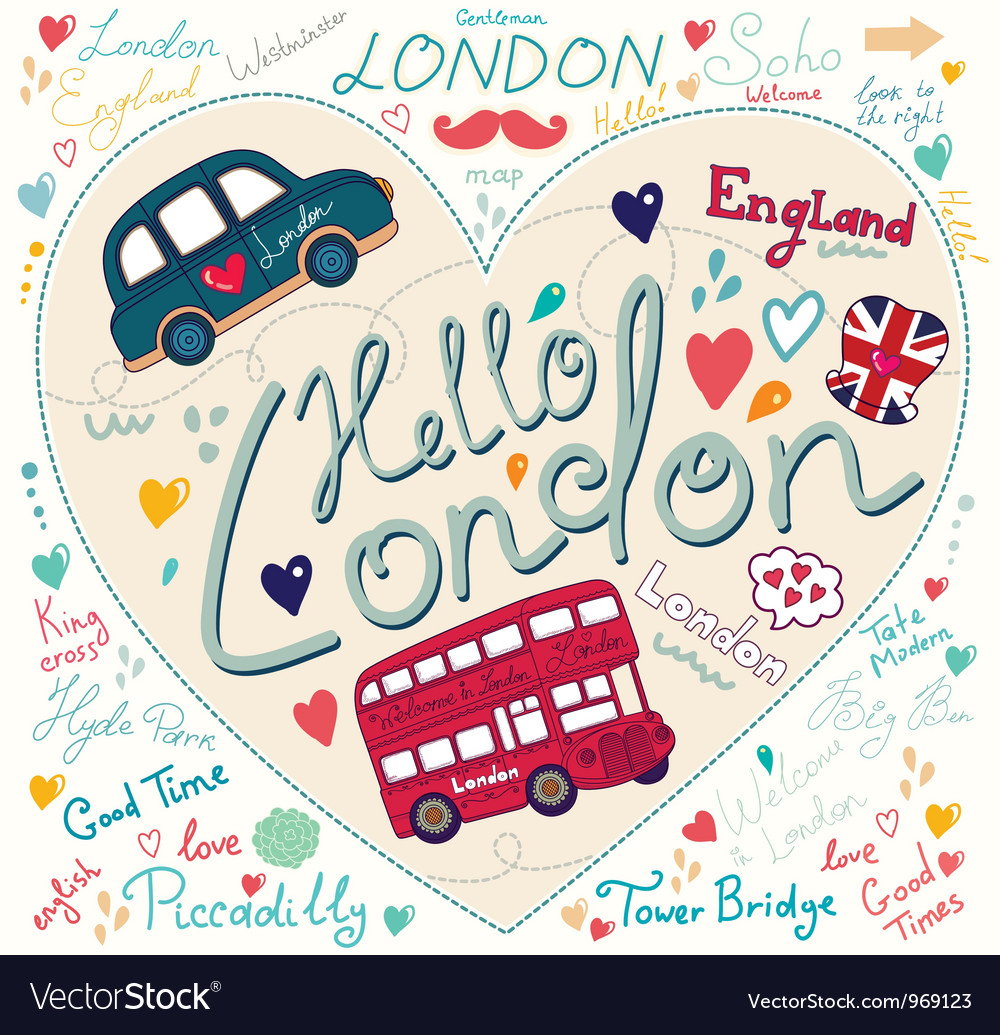 London background vector | Price: 1 Credit (USD $1)