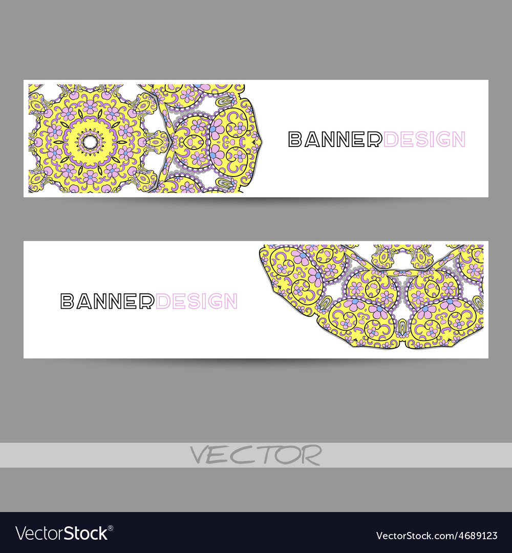 Ornamentalbanner vector   Price: 1 Credit (USD $1)