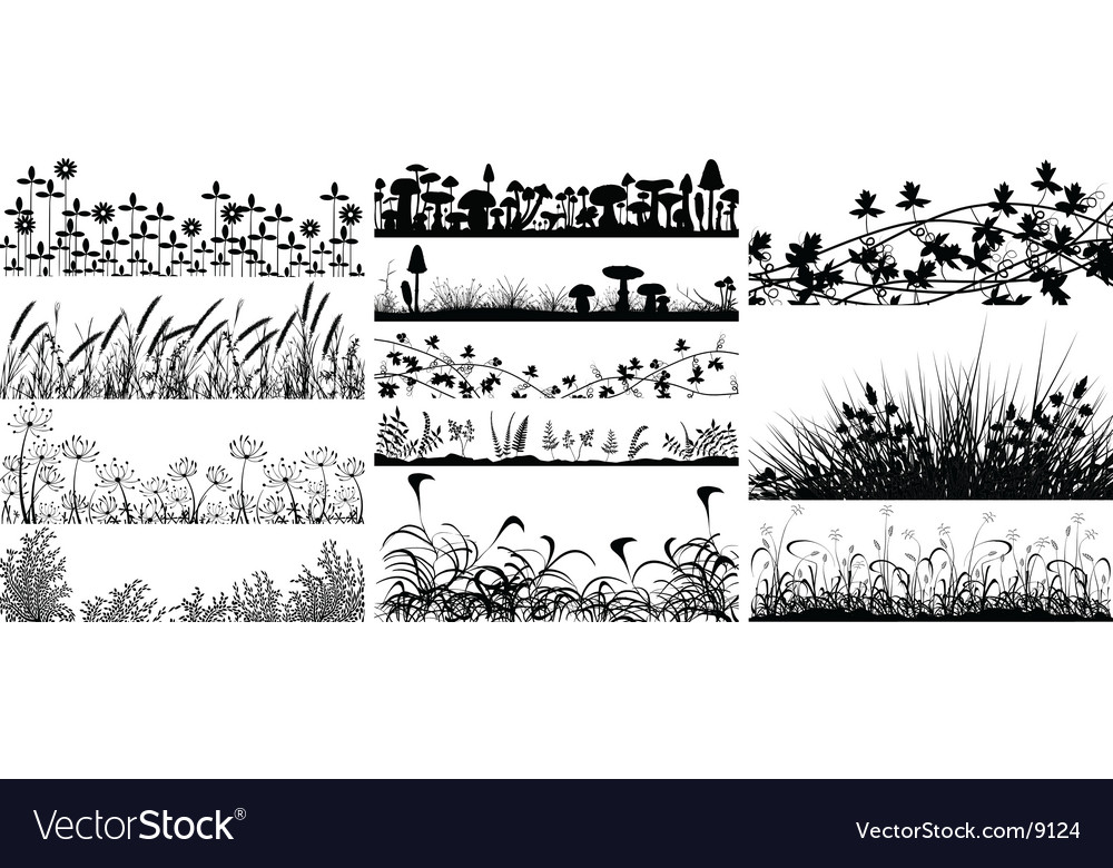 Vegetation vector | Price: 1 Credit (USD $1)