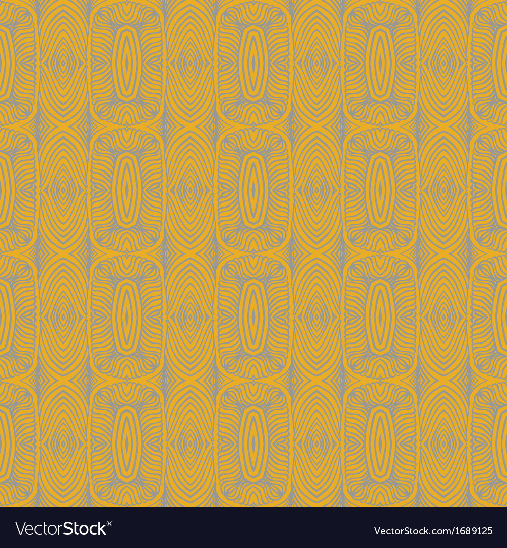 1930 art deco floral seamless pattern vector | Price: 1 Credit (USD $1)