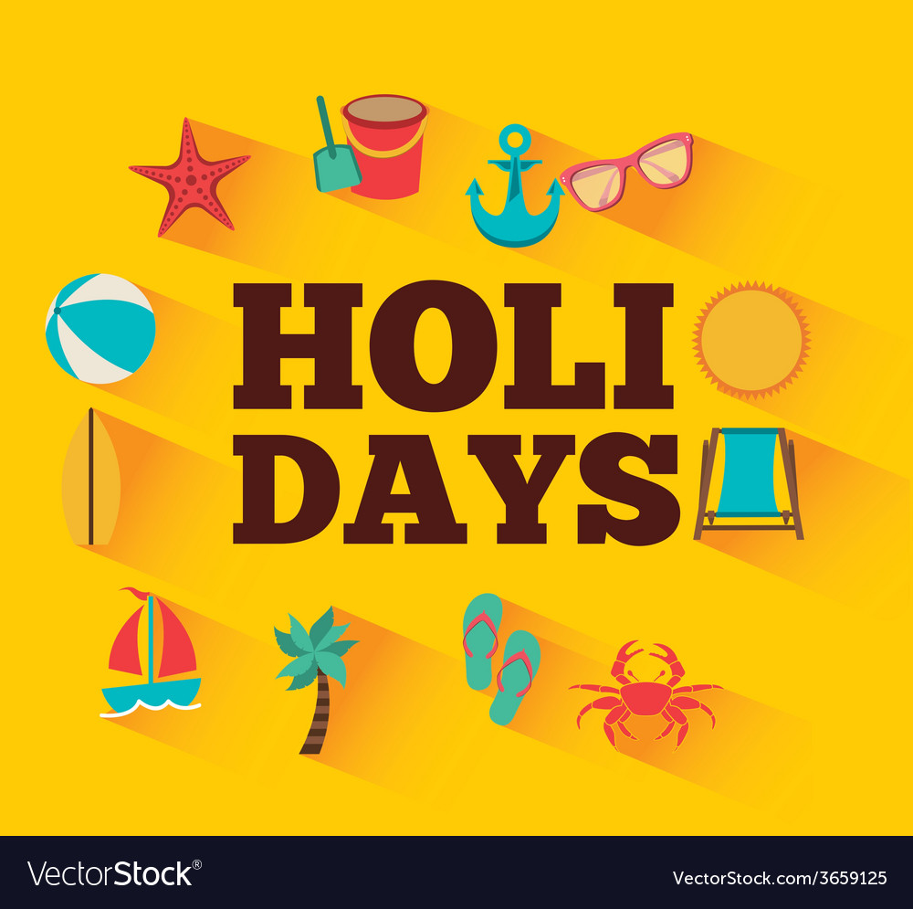 Holidays summer vector | Price: 1 Credit (USD $1)