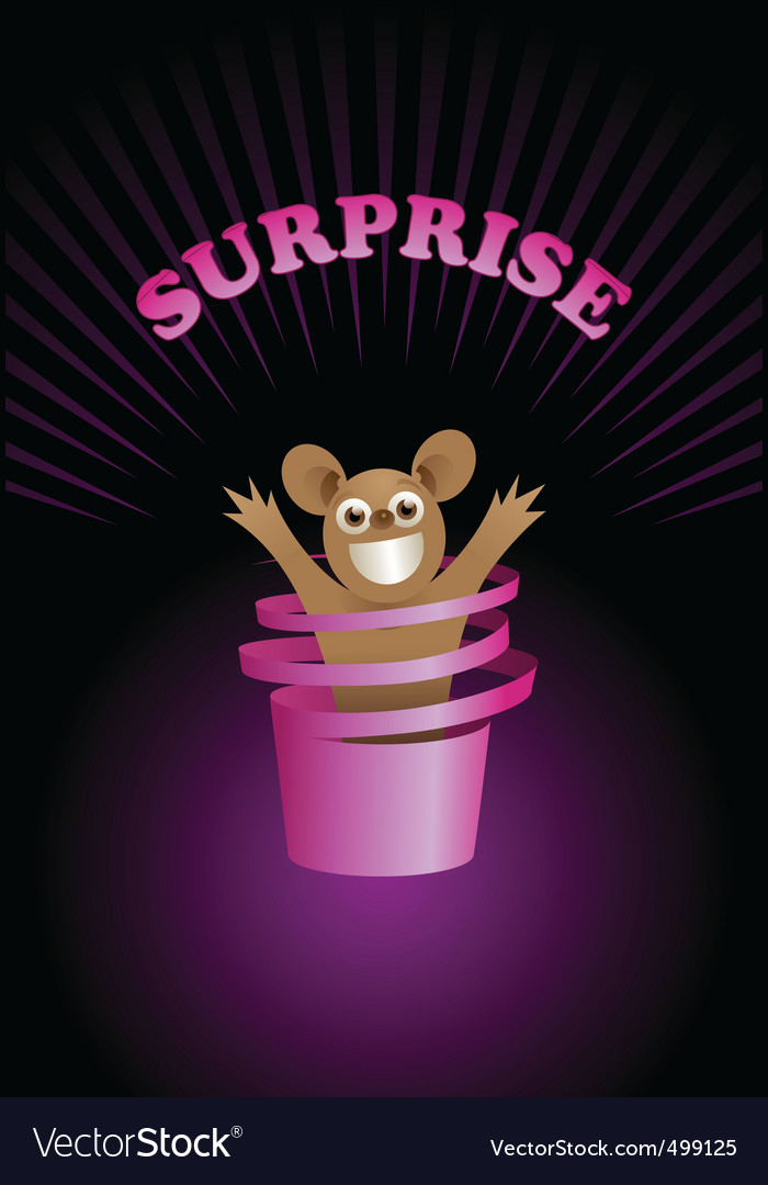 Surprise vector | Price: 1 Credit (USD $1)