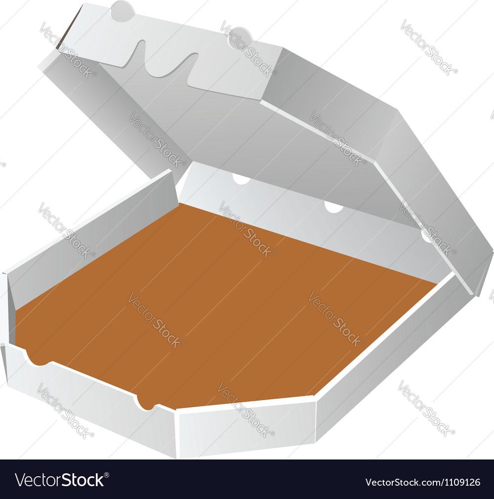 Box for pizza vector | Price: 1 Credit (USD $1)