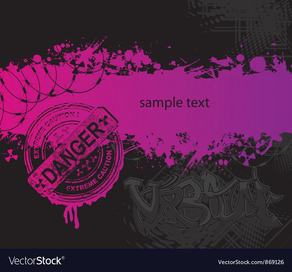 Grunge urban background vector   Price: 1 Credit (USD $1)
