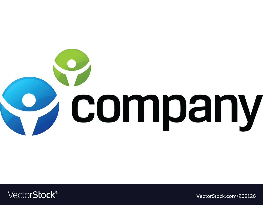 Lawyer company logo vector | Price: 1 Credit (USD $1)