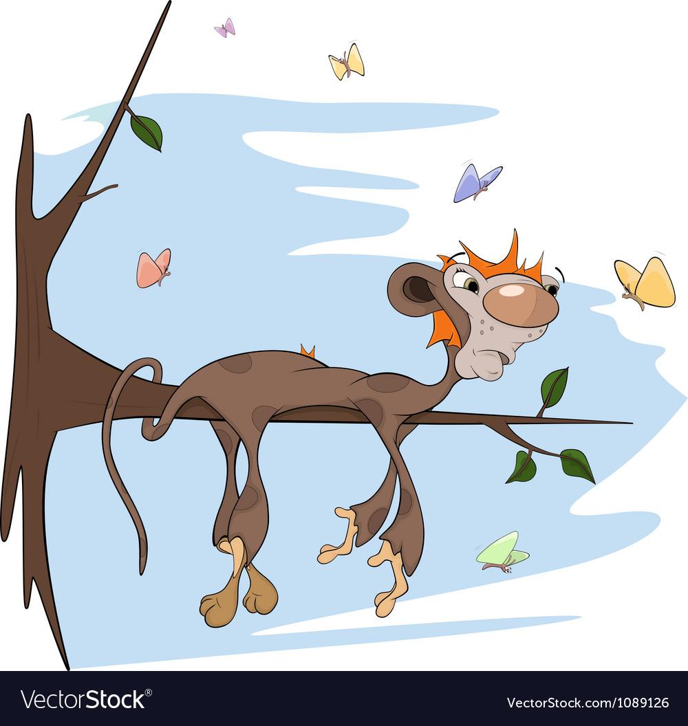 Sloth monkey vector | Price: 1 Credit (USD $1)