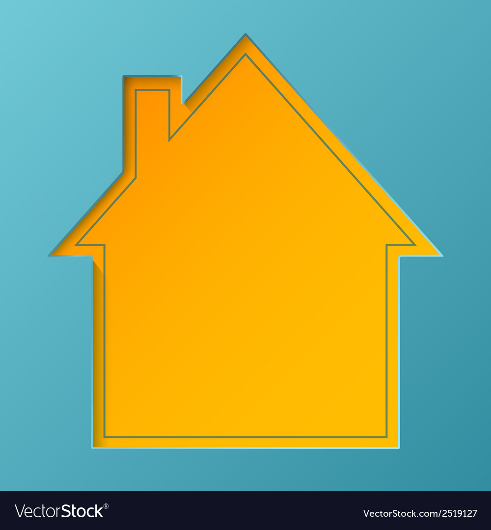Abstract house background vector | Price: 1 Credit (USD $1)