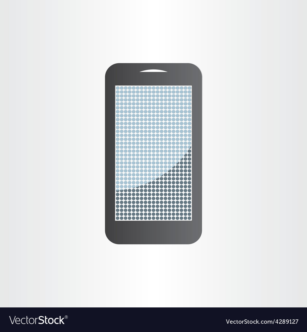 Android mobile phone design element tablet icon vector | Price: 1 Credit (USD $1)