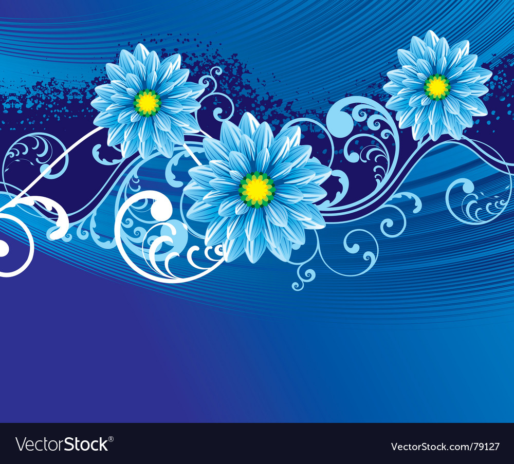 Floral backgorund vector | Price: 1 Credit (USD $1)