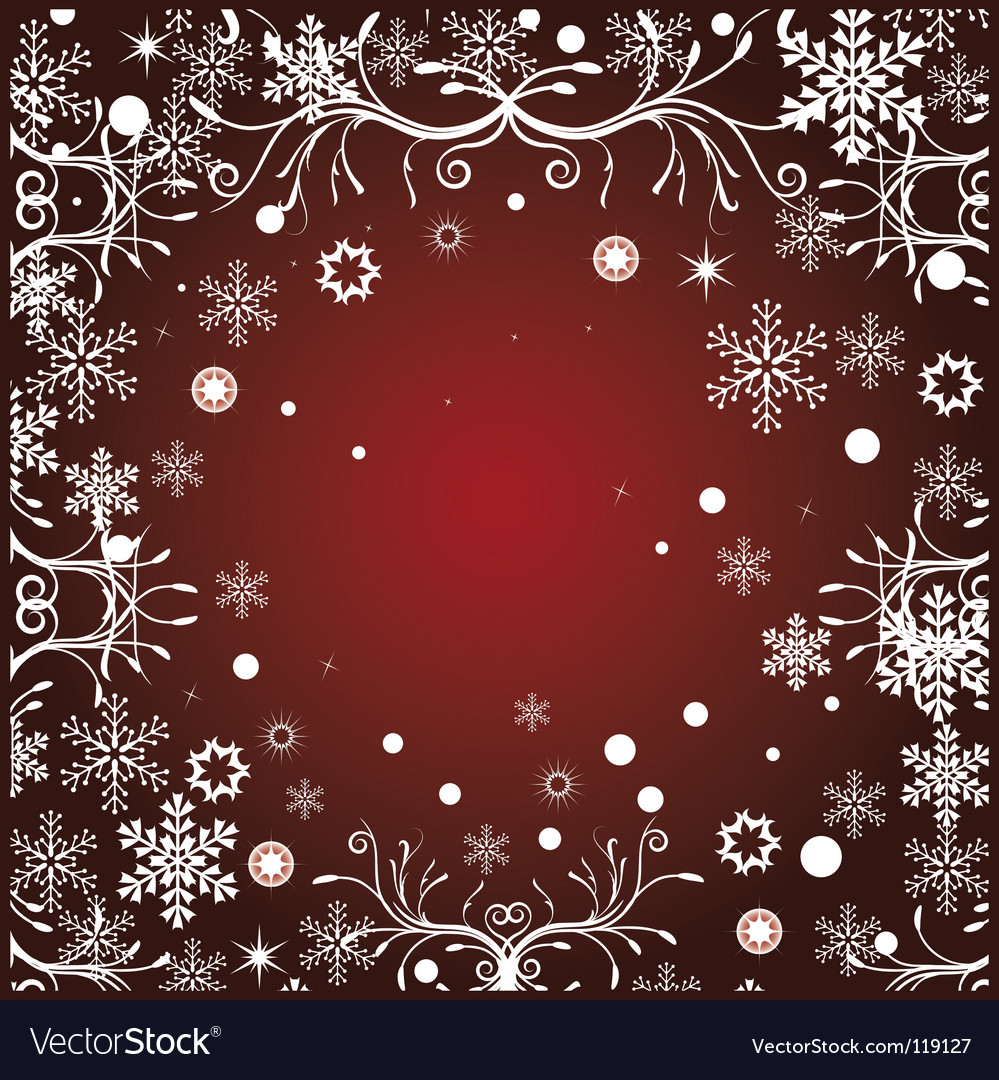 Floral christmas vector | Price: 1 Credit (USD $1)