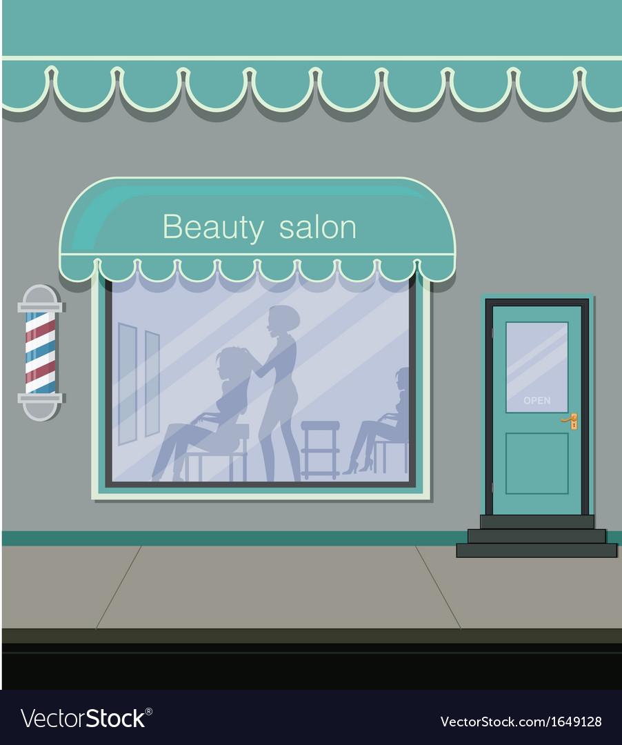 Beauty salon vector | Price: 1 Credit (USD $1)