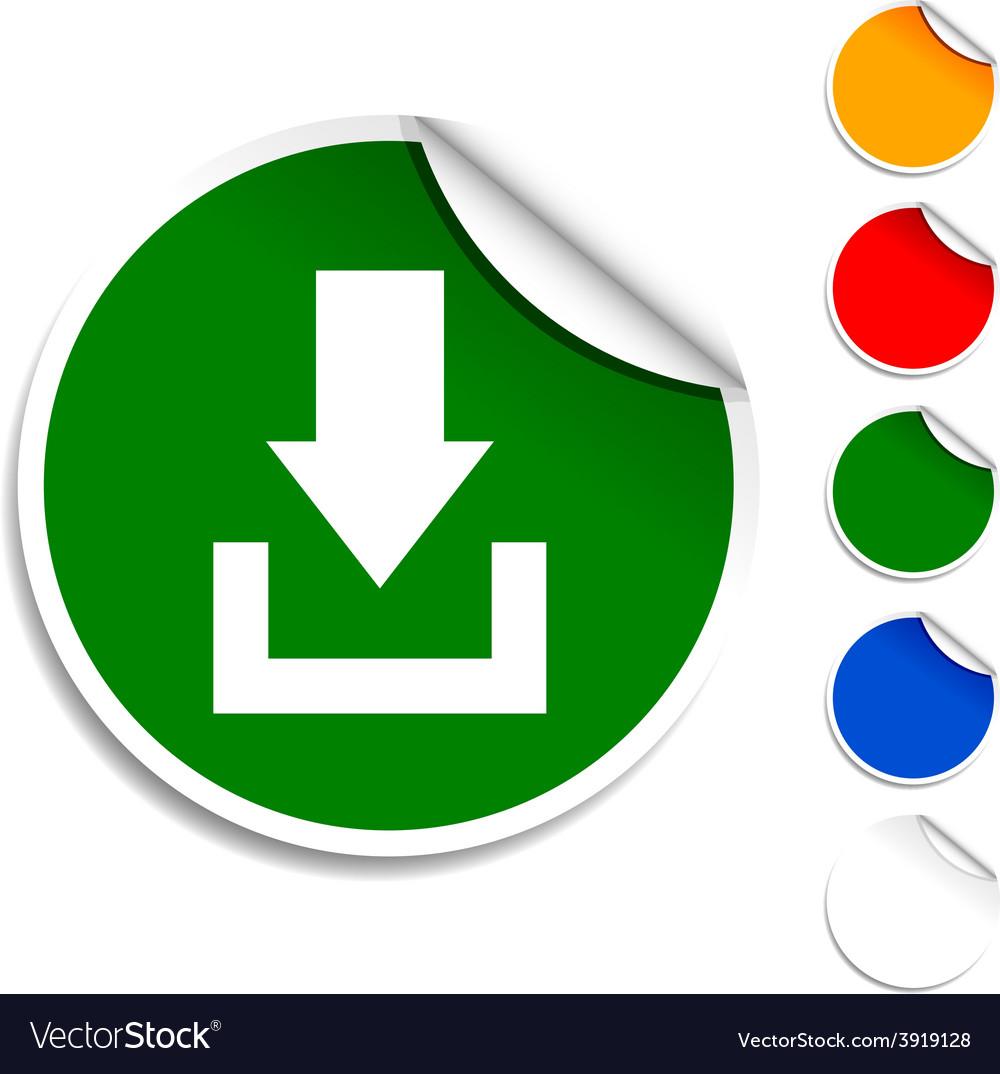 Download icon vector | Price: 1 Credit (USD $1)