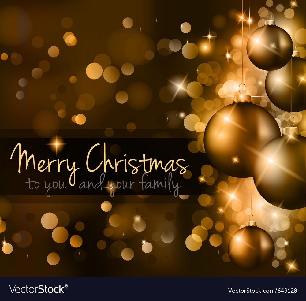 Elegant classic christmas vector | Price: 3 Credit (USD $3)