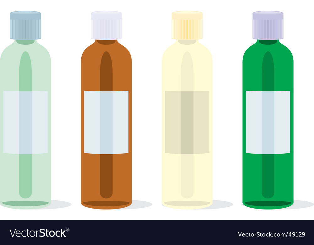 Painkillers bottles set vector | Price: 1 Credit (USD $1)