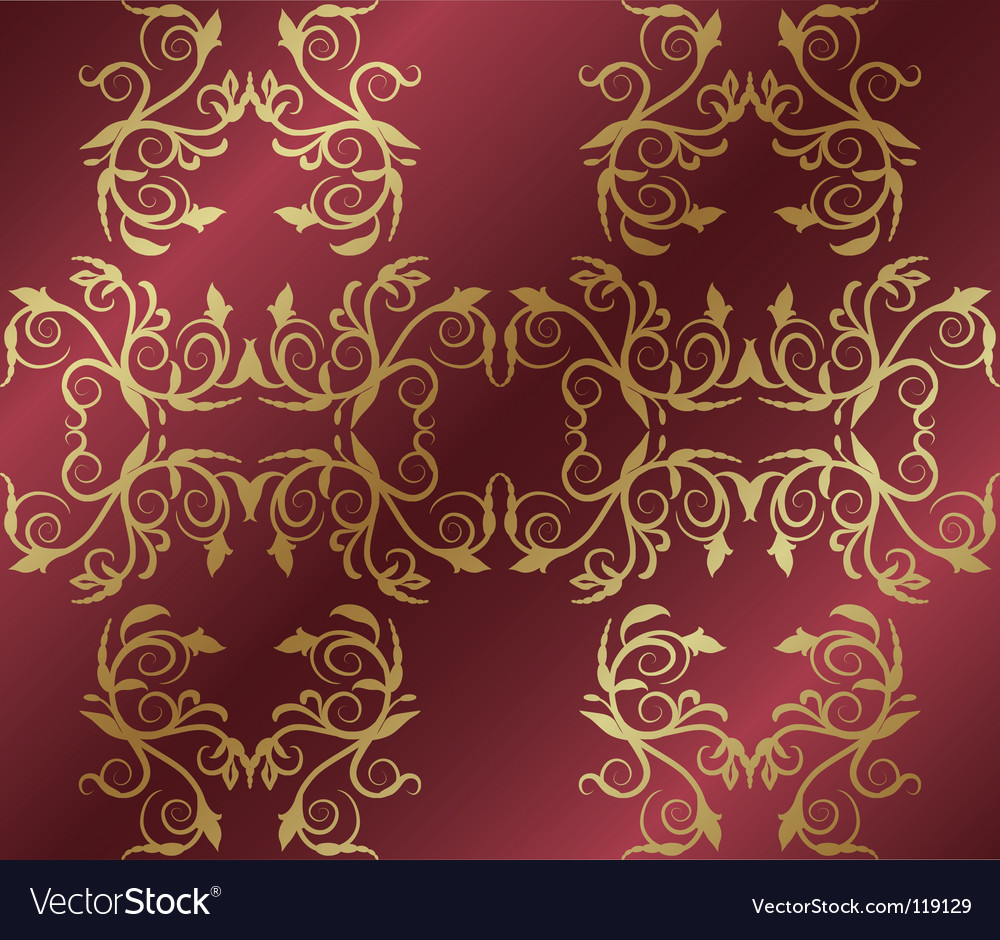 Pattern with lines and flowers vector | Price: 1 Credit (USD $1)