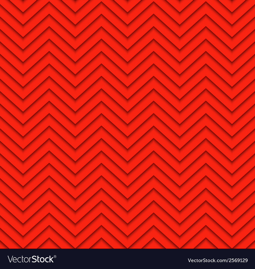 Red seamless zigzag geometric pattern vector | Price: 1 Credit (USD $1)