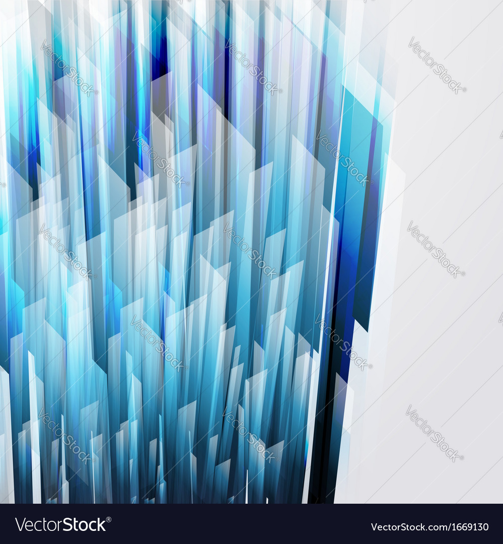 Abstract background wiht straight blue lines vector | Price: 1 Credit (USD $1)