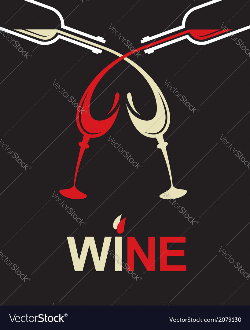 Bottles and glasses vector   Price: 1 Credit (USD $1)