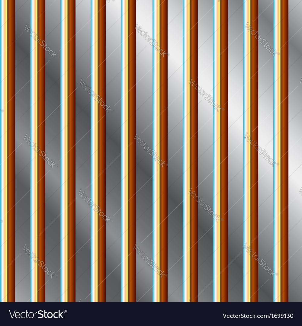 Colorful bars on a silver background vector | Price: 1 Credit (USD $1)