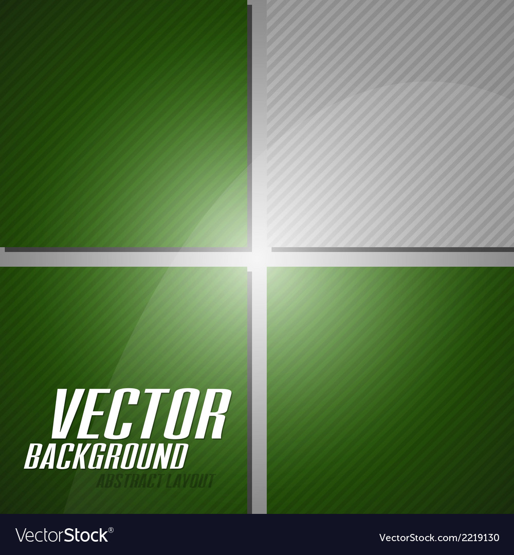 Green layout vector | Price: 1 Credit (USD $1)