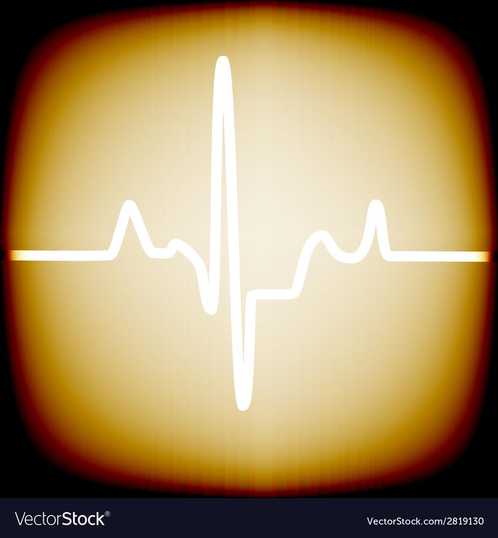 Heart rhythm vector | Price: 1 Credit (USD $1)