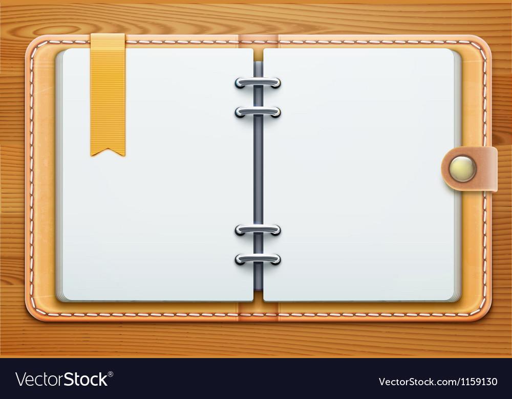 Personal organizer vector | Price: 1 Credit (USD $1)