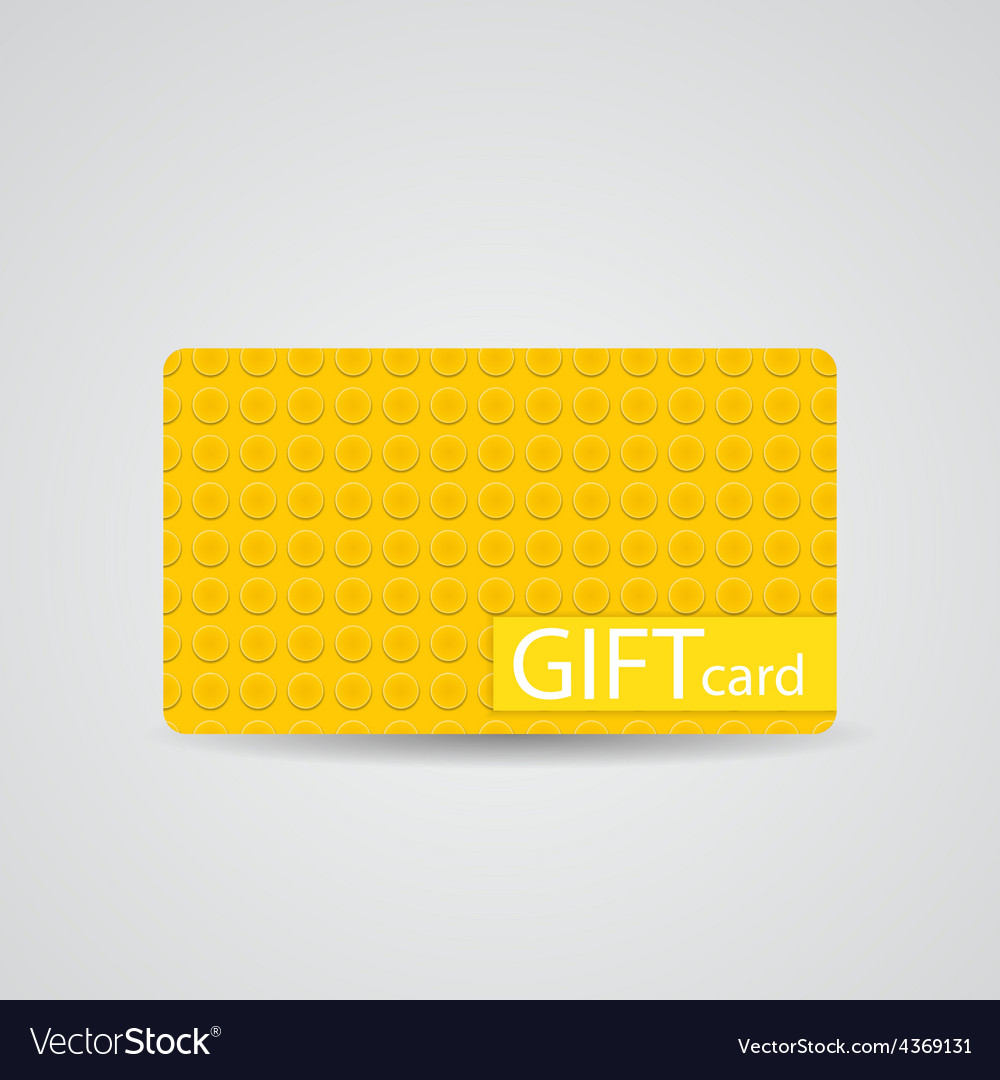 Abstract beautiful block gift card design vector | Price: 1 Credit (USD $1)