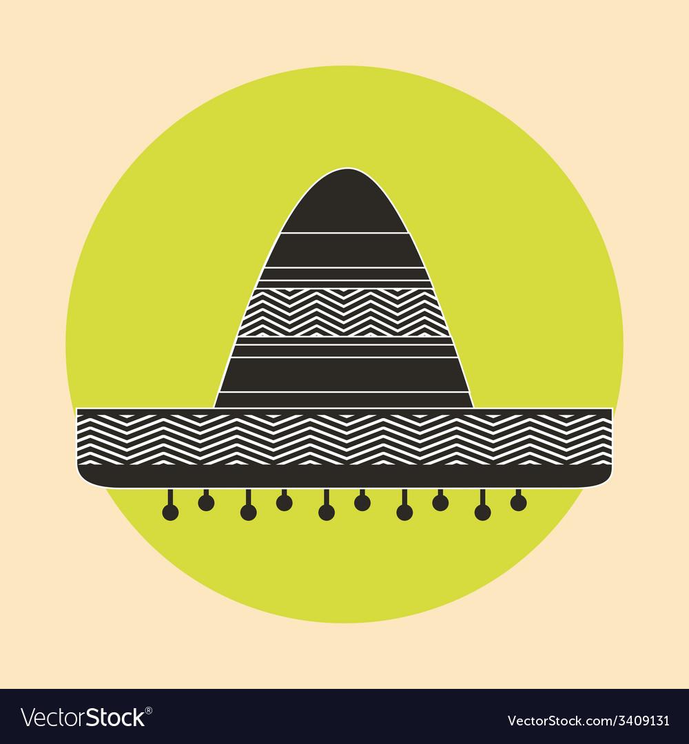 Mexican hat design vector   Price: 1 Credit (USD $1)