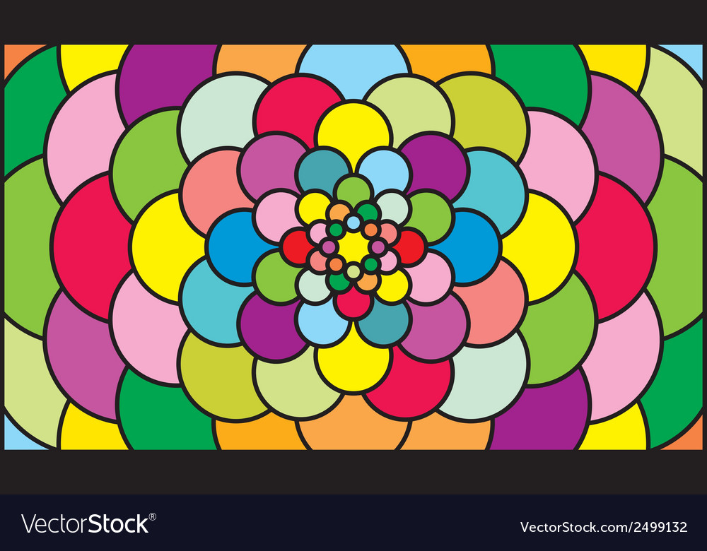Color pattern vector | Price: 1 Credit (USD $1)