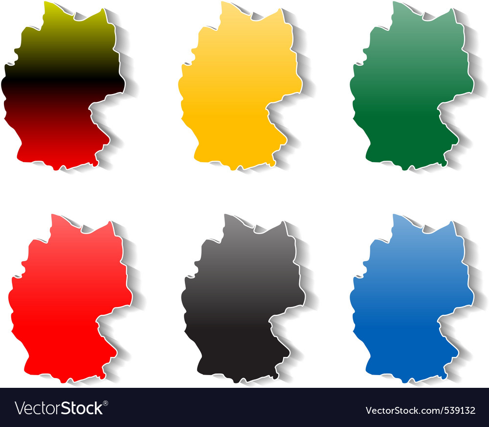 Germany stickers vector | Price: 1 Credit (USD $1)