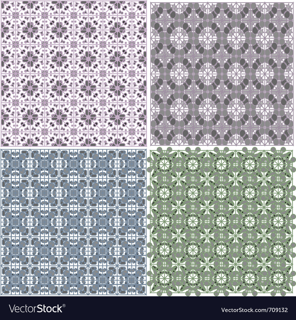 Seamless geometrical backgrounds vector | Price: 1 Credit (USD $1)
